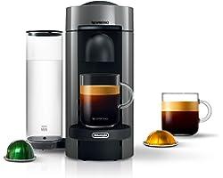 Nespresso 608066-ENV150GY VertuoPlus Coffee and Espresso Maker by De'Longhi, Grey