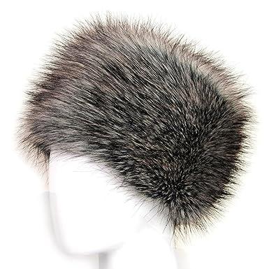 c0caef03 Women Men Faux Fur Hat,HOMEBABY Neutral Unisex Beanie Warm Winter Keep Warm  Hat -Ladies Russian Hat (23.6*5.9