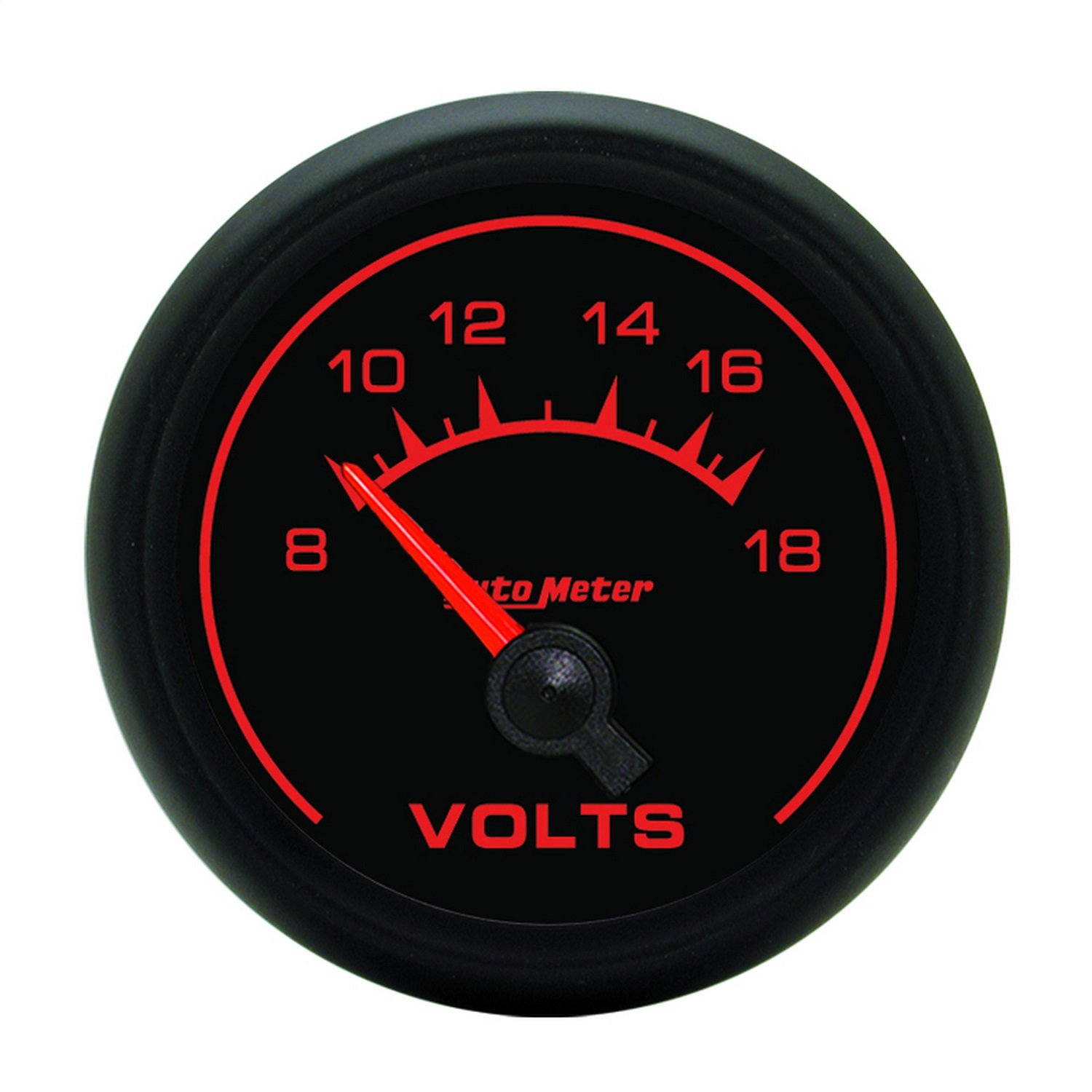 Auto Meter 5992 ES 2-1/16'' 8-18V Short Sweep Electric Voltmeter by AUTO METER
