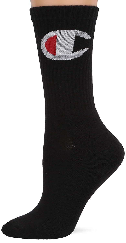 Champion womens Crew Sock Big C-single Pair Casual Sock