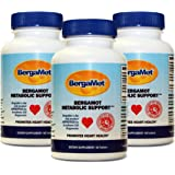 BergaMet Metabolic (Heart & Cholesterol) Support - Citrus Bergamot 550mg (38%) - THE WORLD'S MOST POWERFUL & PROVEN BERGAMOT PRODUCT - 180 Tablets LIMITED OFFER!