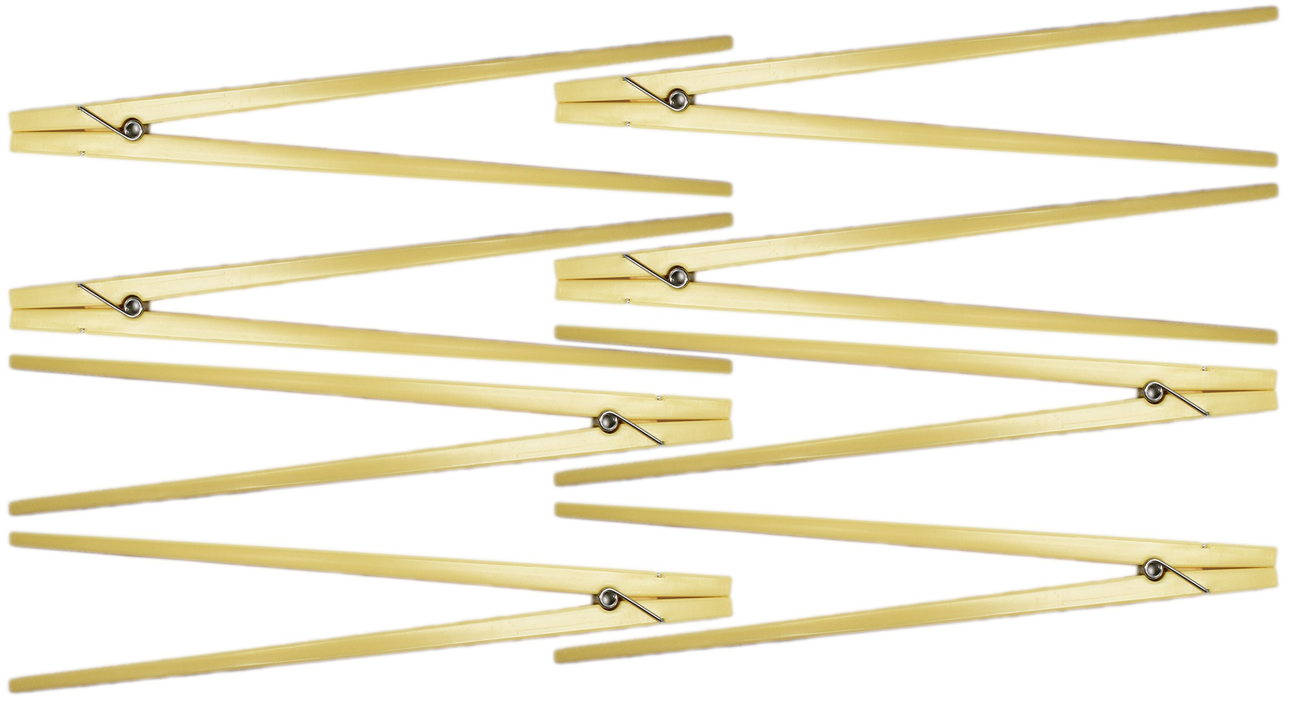 Set of 8 Clothespin Chopsticks! 9'' Inches Long - Training Chopsticks - Reusable - Beginners Chopsticks Perfect for any Age and Occasion! (8)