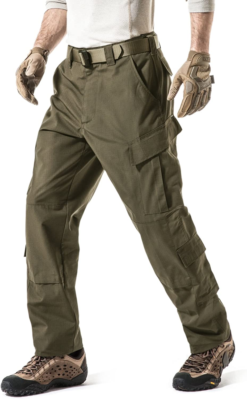 CQR Men's Tactical Pants Military Combat BDU Cargo New arrival W Our shop most popular ACU