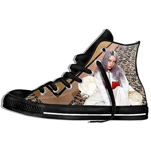 f94d575f5e082 Amazon.com: VINHAN Billie Eilish Shoes Black Brown Merch for Women ...