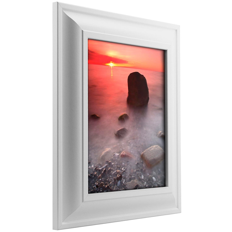 (クレイグフレーム) Craig Frames フォト/ポスターフレーム 滑らか仕上げ 幅2インチ さまざまな色 8.5 x 11 619851101F01A B00BTGM3CM 8.5 x 11|ホワイト ホワイト 8.5 x 11