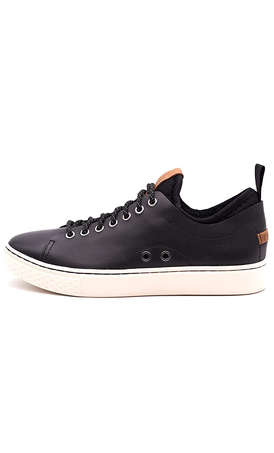 Polo Ralph Lauren Turnschuhe DUNOVIN schwarz Leather Leather Leather 95acff