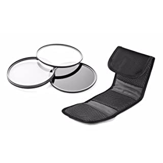 Leica V-LUX (Typ 114) High Grade Multi-Coated, Multi-Threaded, 3 Piece Lens Filter Kit (62mm) Made By Optics + Nw Direct Microfiber Cleaning Cloth.