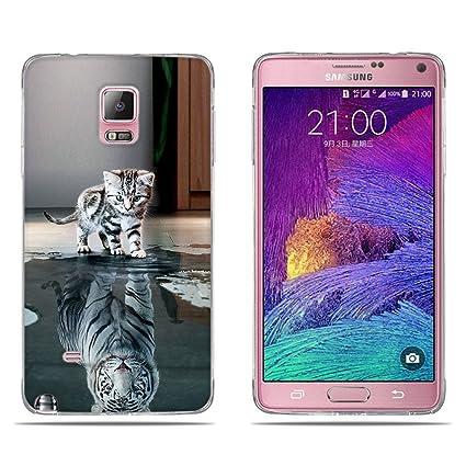 FUBAODA Fundas Carcasas para Samsung Galaxy Note 4, Gel de ...