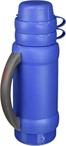 THERMOS 3410ATRI4 Add-A-Cup Beverage Bottle, 35 OZ, MULTICOLOR