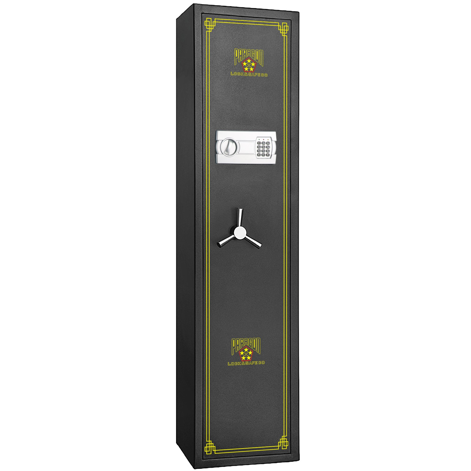 7501 Paragon Lock & Safe Electronic 5 Gun Rifle Safe  4.26cf Gun Cabinet for Firearms by Paragon Lock and Safe