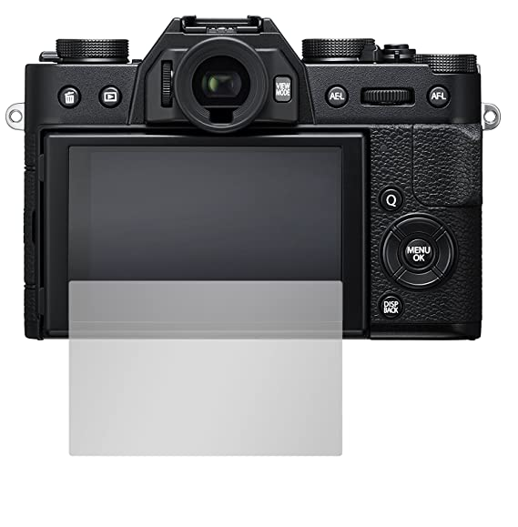 Anti Riflesso Opaca Slabo 2 x Pellicola Protettiva per Display per fujifilm X-T20 Protezione No Reflexion