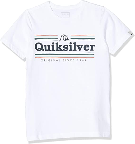 Quiksilver New Slang Jr Camiseta de Manga Corta Ni/ños