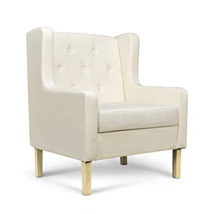 Surprising Amazon Com Wilcum Tufted Accent Chair Modern Upholstered Bralicious Painted Fabric Chair Ideas Braliciousco