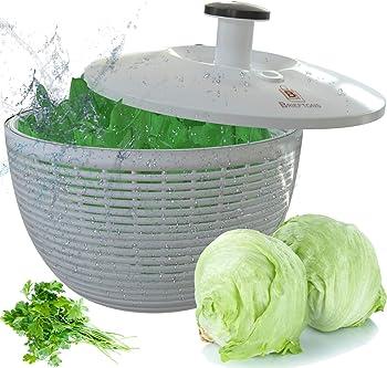 Brieftons BR-SS-02 Easy Pump Salad Spinner