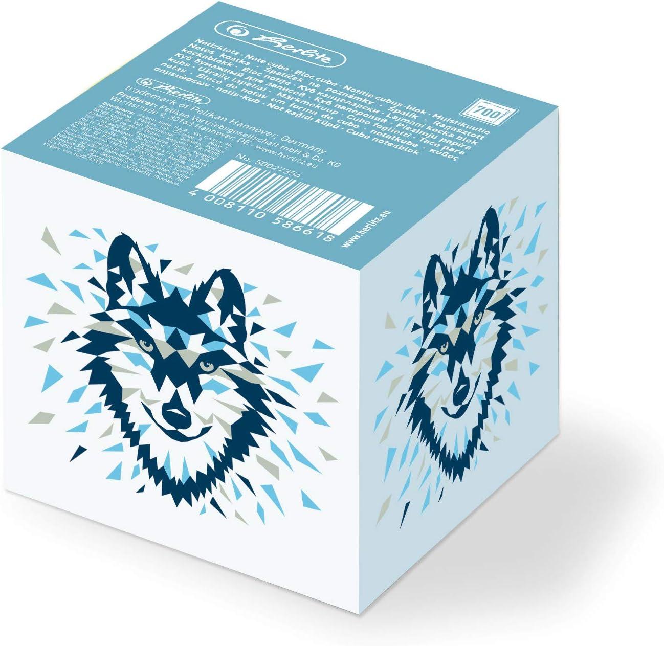herlitz 50027835 Aufgabenheft f/ür coole K/öpfe Motiv: Wild Animals Wolf A5 1 St/ück 48 Blatt