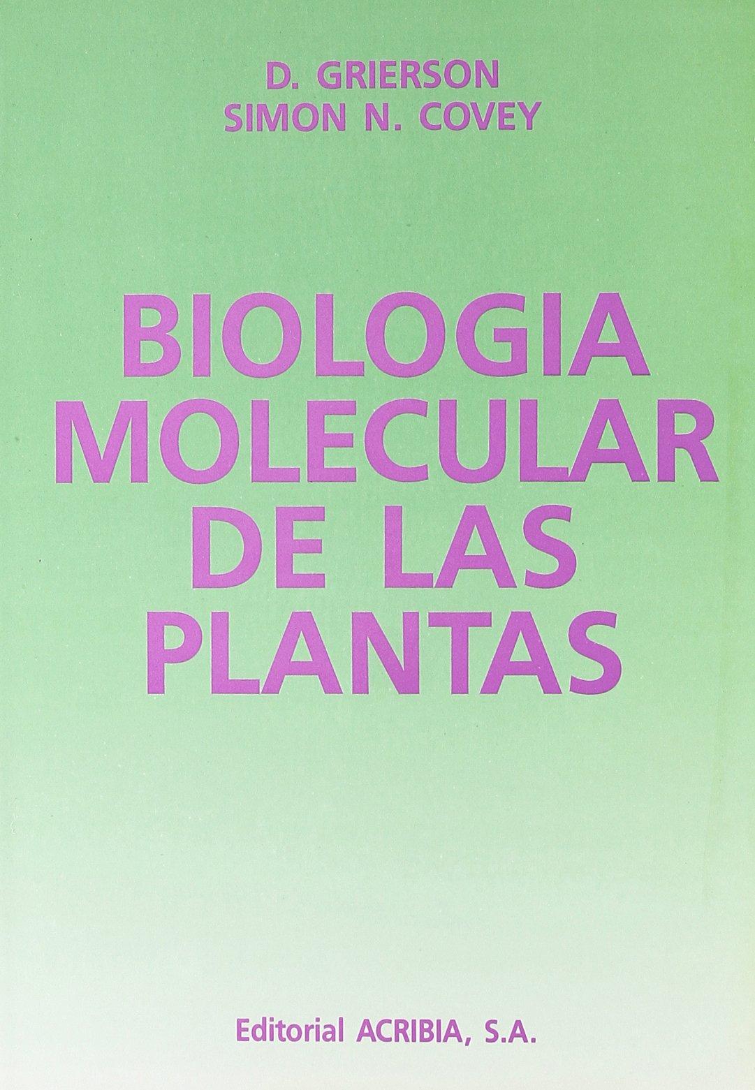 Biologia Molecular de Las Plantas (Spanish Edition): D ...