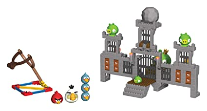 Amazoncom Angry Birds King Pig Castle Amazon Exclusive Toys Games
