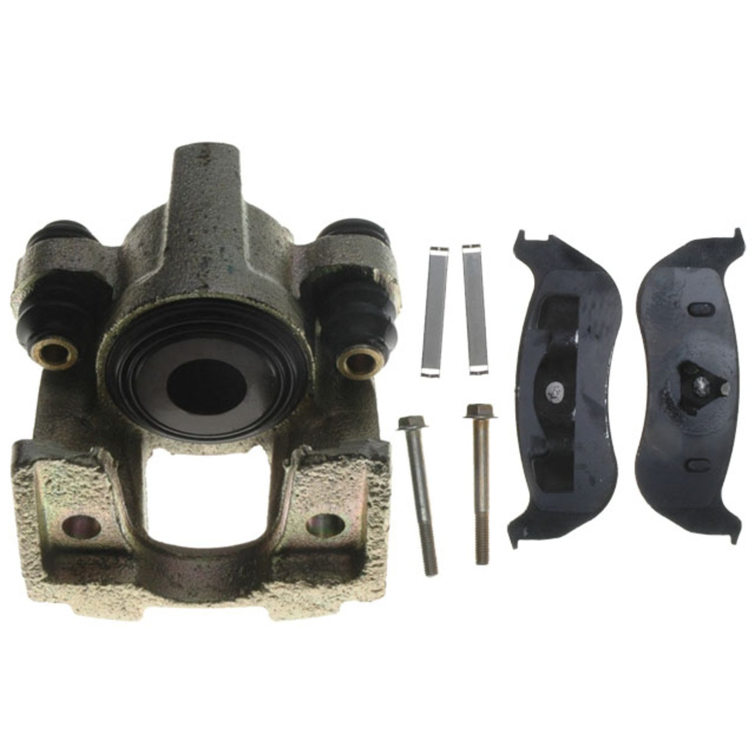 Remanufactured Loaded ACDelco 18R1914SV Specialty Rear Disc Brake Caliper Assembly with Performance Fleet//Police Pads