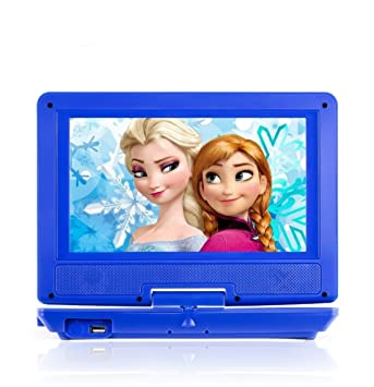 portable dvd player for car plane more 7 car travel accessories included