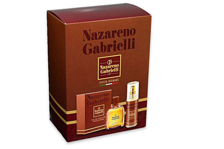 NAZARENO Gabrielli confezione regalo profumo uomo + deodorante