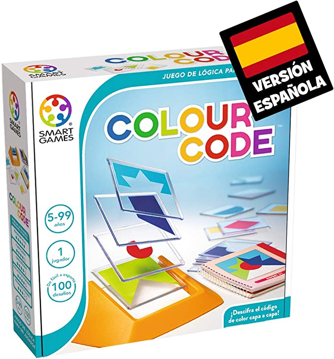Smart Games-SG090ES Colour Code (Ingles), Miscelanea (81115 ...