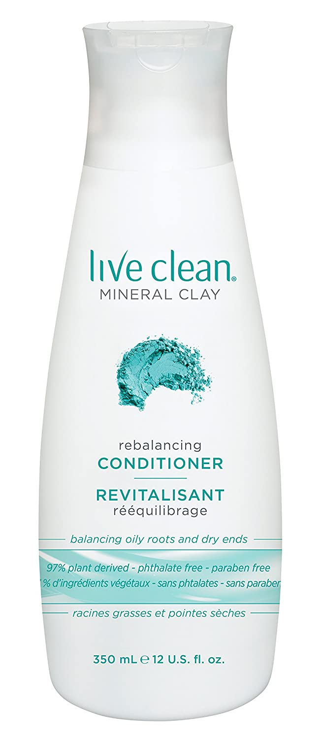 Live Clean Mineral Clay Conditioner, 12 Fl oz (Pack of 4)