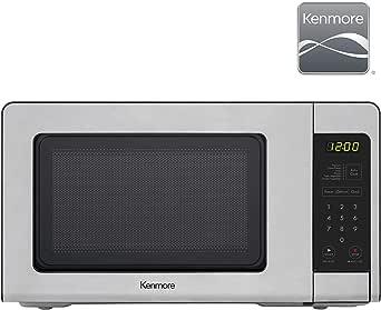 Amazon.com: Kenmore Microondas de acero inoxidable: Aparatos