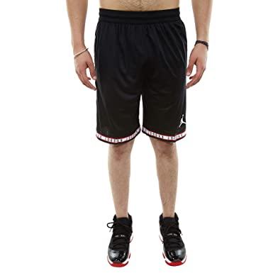d353db22c42 Nike Mens Jordan Jumpman Air Mesh Shorts Black/White AQ2376-010 Size Small