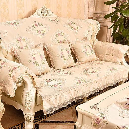 DUANGONGZI Fundas De Sofas Chaise Longue,Funda de sofá ...