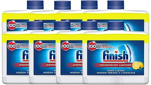 Finish Limpiador de lavavajillas Reisser Limón, 250 ml: Amazon.es ...