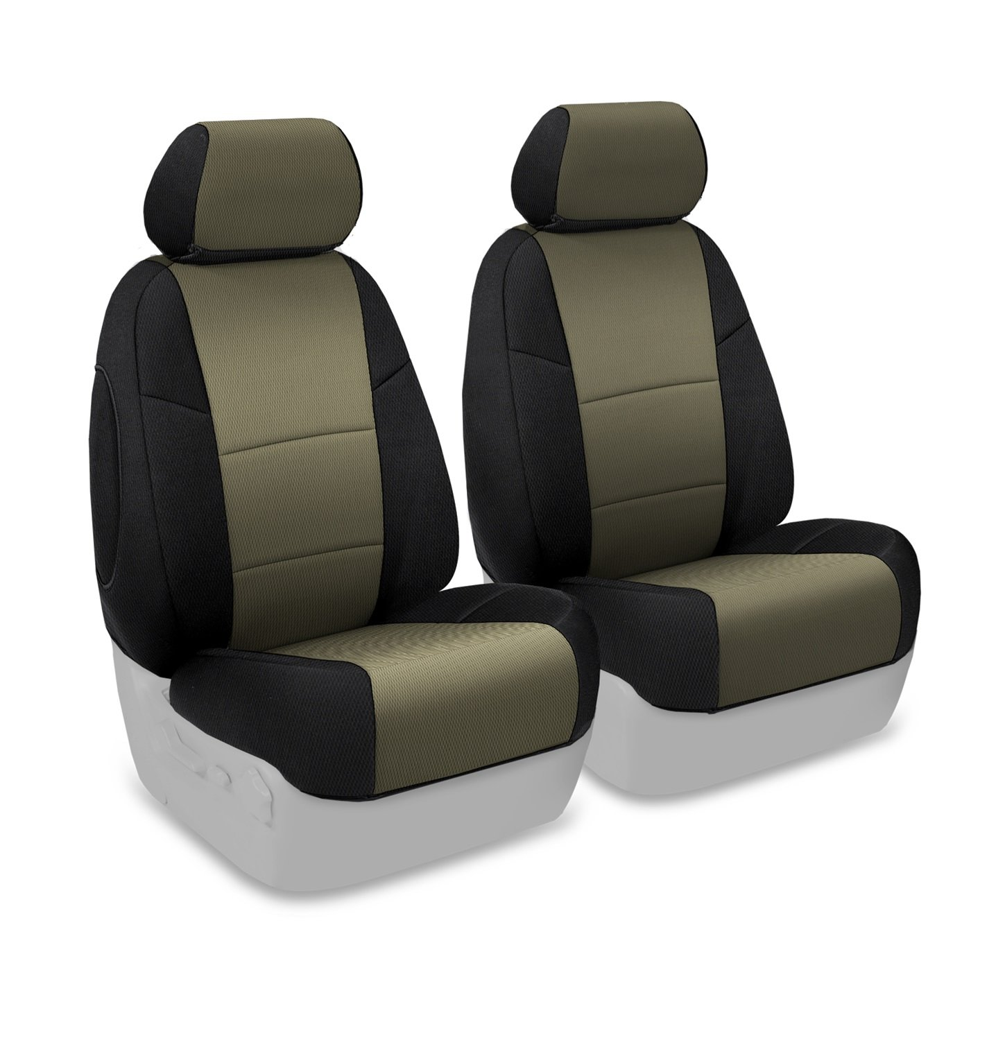 Coverking Custom Fit Rear 60//40 Bench Seat Cover for Select Jeep Grand Cherokee Models Black Neosupreme Solid
