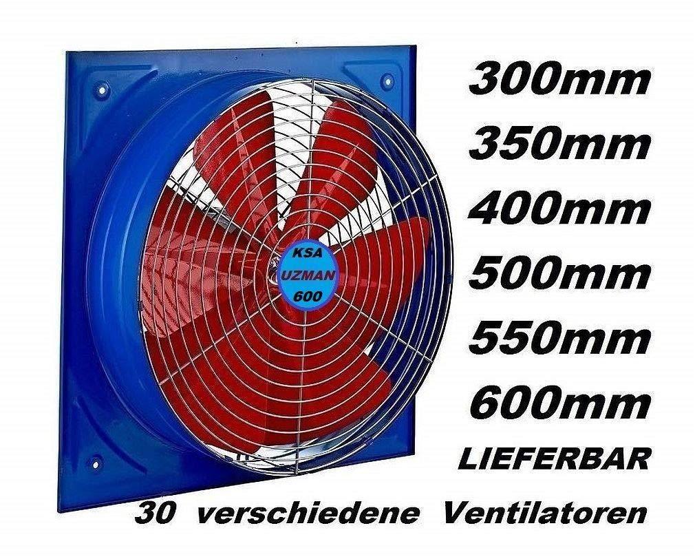 600mm Industrie Wandventilator Axial Wand Axial Ventilator Gebläse ...