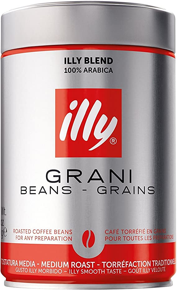 Illy Coffee Beans Standard 4 X 250g Amazoncouk Grocery