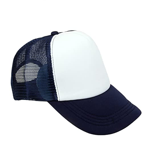 6ff161d2c18 Michelangelo Men s Mesh Curved Visor Baseball Cap (Blue)  Amazon.in   Clothing   Accessories