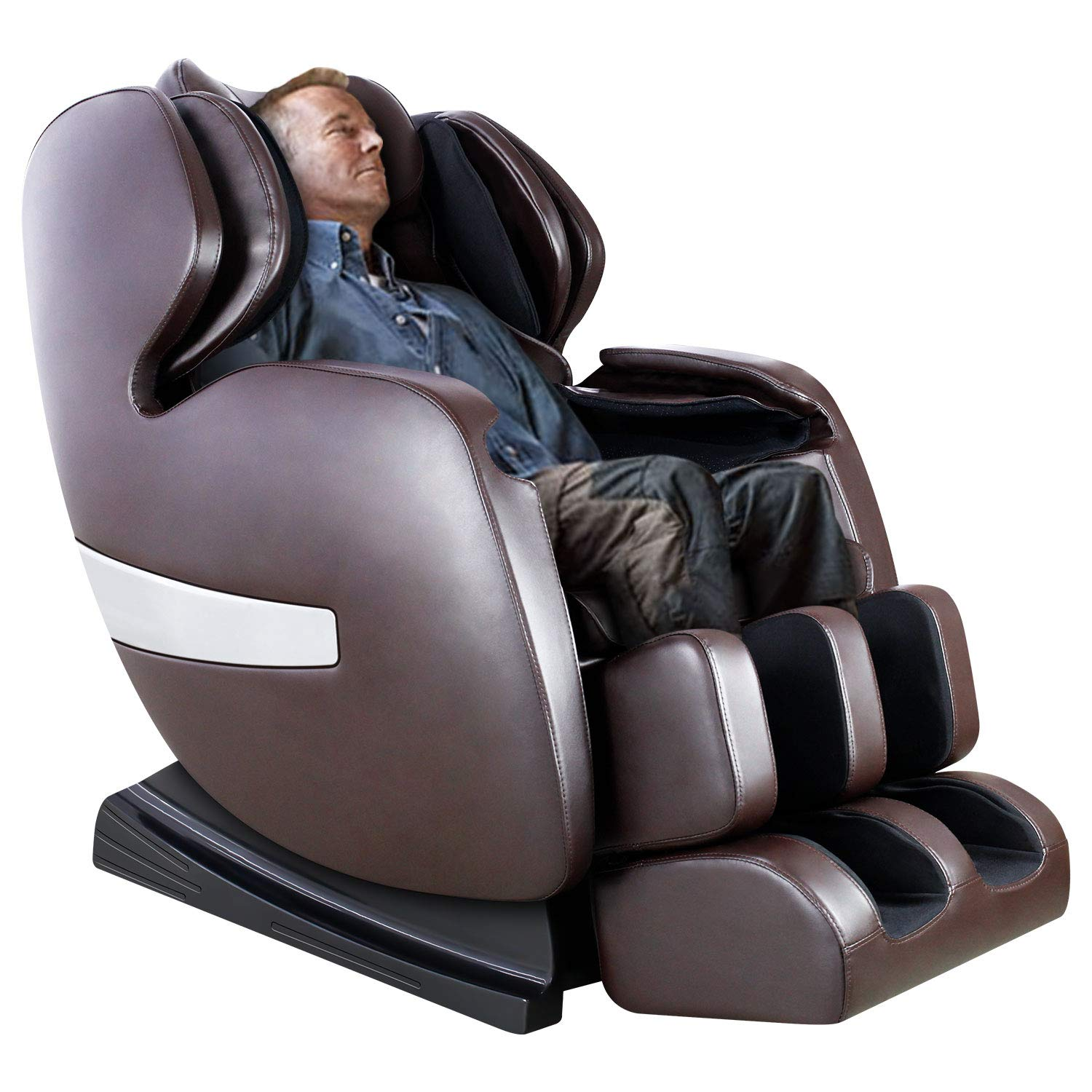 KTN Massage Chair, Shiatsu Massage Chairs with S Track, 3D Massage Chair Zero Gravity Full Body and Recliner with Heat,Vibrating & Foot Roller (Brown)