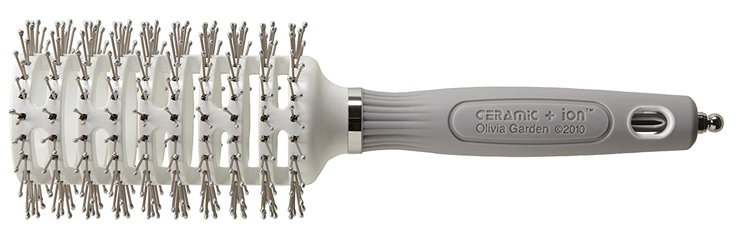 Amazon.com : Olivia Garden Ceramic and Ion Turbo Vent Pro Hair Brush Shaper : Hair Brushes : Beauty