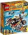 LEGO® Legends Of Chima - Playthèmes - 70222 - Jeu De Construction - Le Bulldozer Panthère