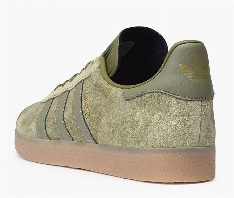 Chaussures Adidas Gazelle Vert Kaki BB5265: Amazon.fr ...