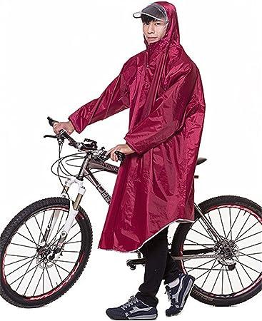 Amazon.com: Poncho impermeable para bicicleta con capucha ...