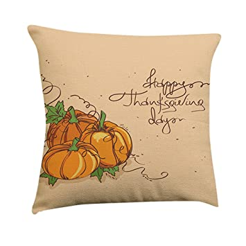 Amazon.com: Gunel calabaza hogar decorativo Throw funda de ...