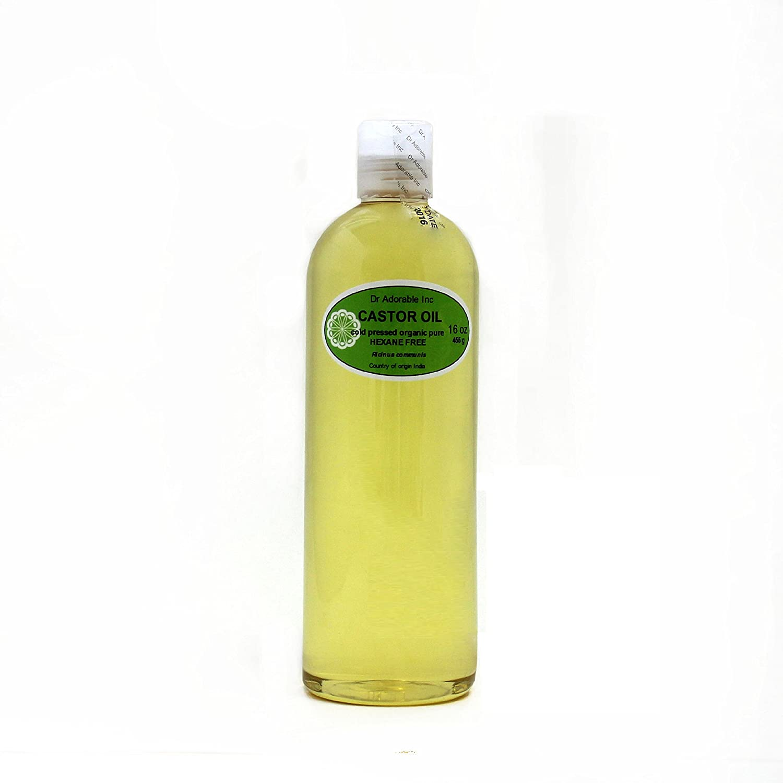 Organic Pure aceites portador prensado en frío 16 oz/1 pinta (aceite de ricino): Amazon.es: Belleza