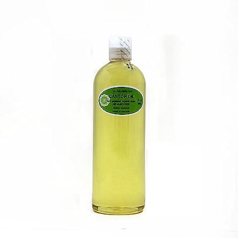 Organic Pure aceites portador prensado en frío 16 oz/1 pinta (aceite de ricino