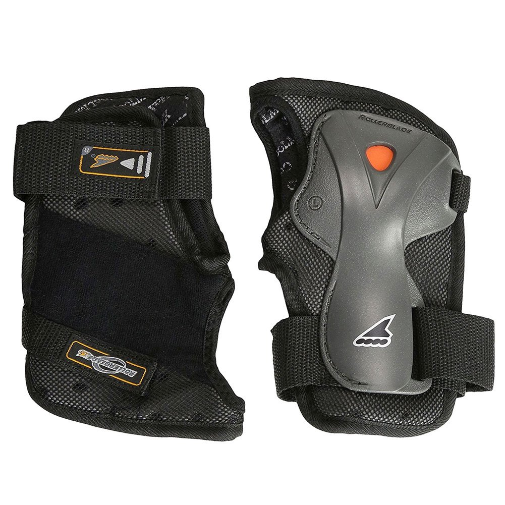 Rollerblade Luxgear Plus Wrist Guards Protective Gear,Multi Sport Protection, Unisex, Black by Rollerblade