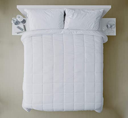 Piumone Bianco Matrimoniale.Banzaii Piumino Invernale Interno Bianco Piumone Soft 300 Gr