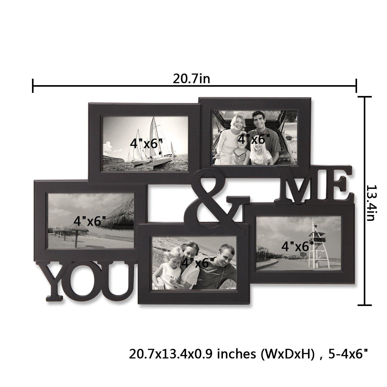 Fantastisch 20 öffnung Collage Bilderrahmen Fotos ...