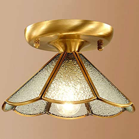 Rollsnownow Lámpara de techo plafón plafón cúpula de luz de ...