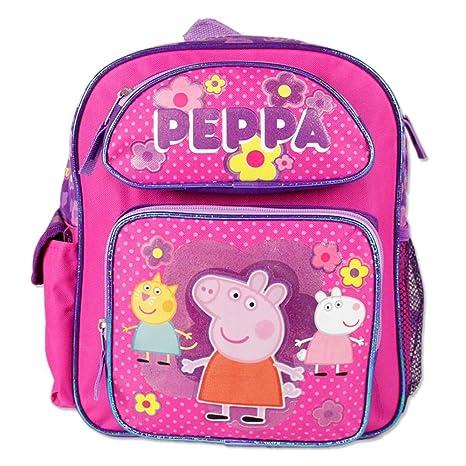 Pequeña mochila – Peppa Pig – Rosa Bolso De Escuela Nueva 107448