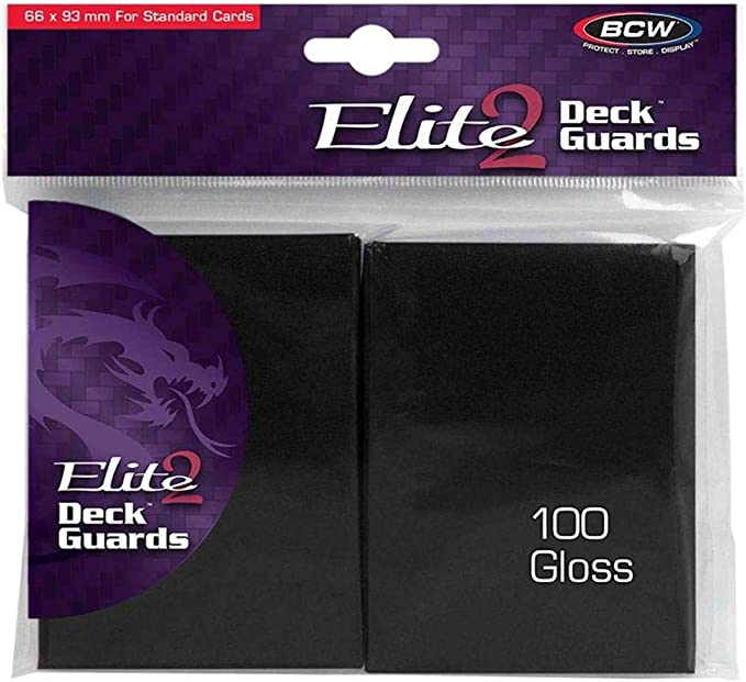 300 BCW DOUBLE MATTE BLUE DECK GUARDS SLEEVES MAGIC THE GATHERING MTG