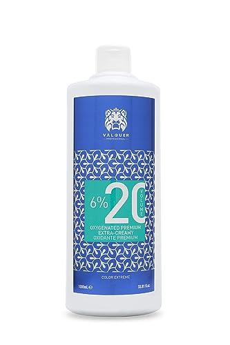 Valquer Oxidante Premium Ultra-Cremoso. Oxigenada en crema para el cabello. Coloración permanente capilar. Perfumada.