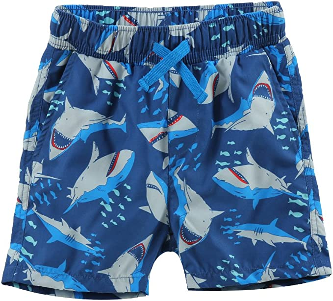 Kid Shark Eat Pizza Boys Girls Sweatpants Sport Trousers Back Pocket Black